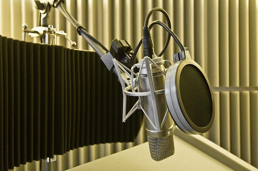 Studio-Mikro, Foto: Claus Bach