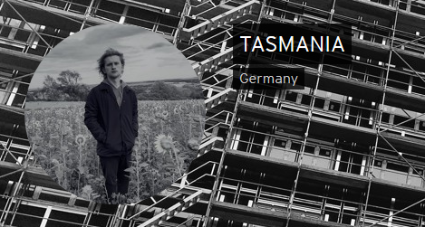 Screenshot von der Soundcloudsite TASMANIA