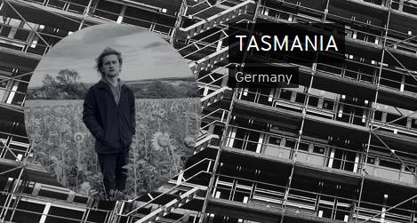 Screenshot von der Soundcloudsite TASMANIA